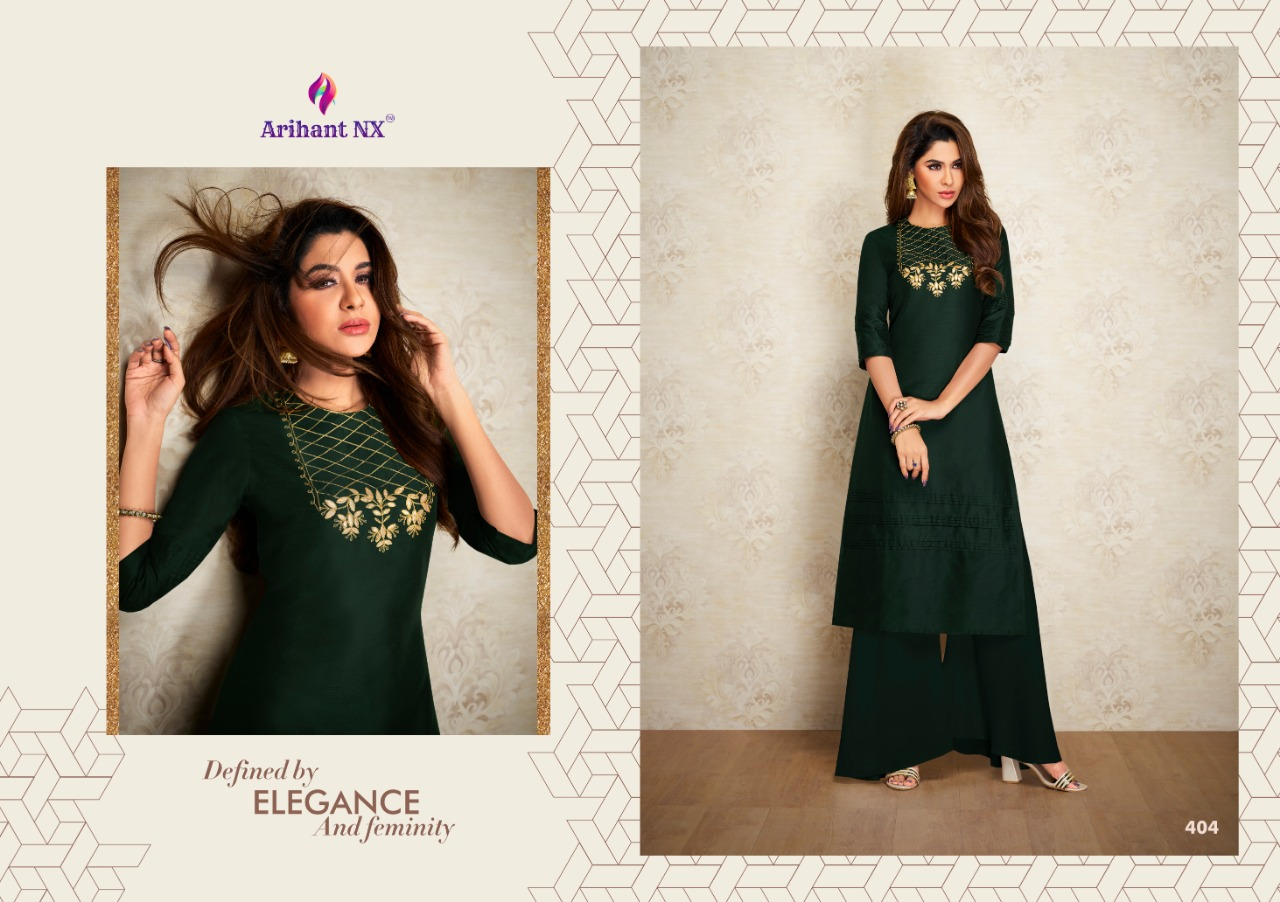 Arihant Nx Nazz Kurti with Palazzo Wholesale Catalog 8 Pcs 3 - Arihant Nx Nazz Kurti with Palazzo Wholesale Catalog 8 Pcs