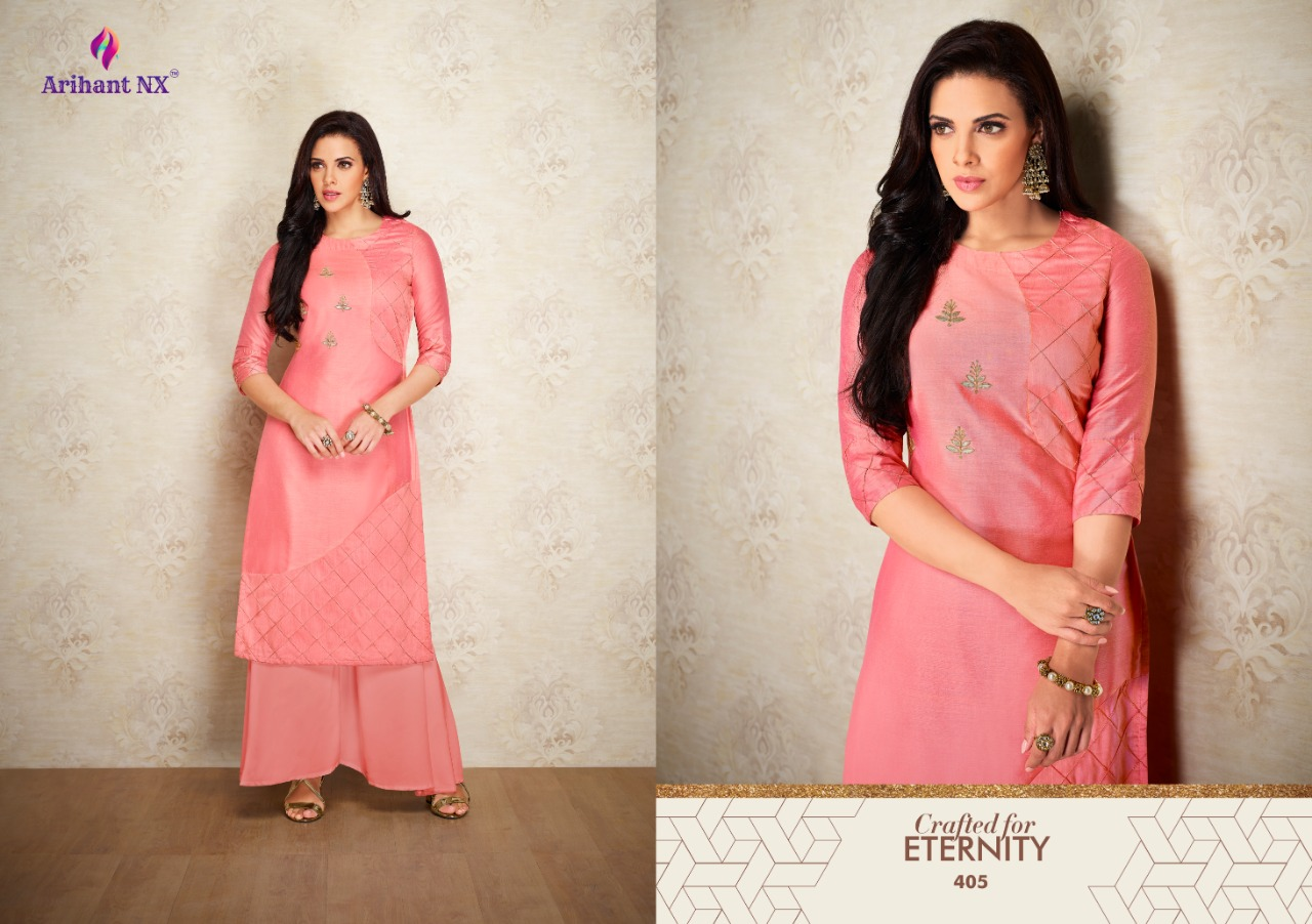 Arihant Nx Nazz Kurti with Palazzo Wholesale Catalog 8 Pcs 4 - Arihant Nx Nazz Kurti with Palazzo Wholesale Catalog 8 Pcs