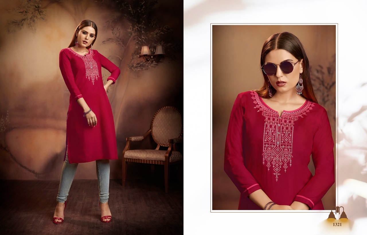 Kajree Lily Vol 15 Kurti Wholesale Catalog 12 Pcs 11 - Kajree Lily Vol 15 Kurti Wholesale Catalog 12 Pcs
