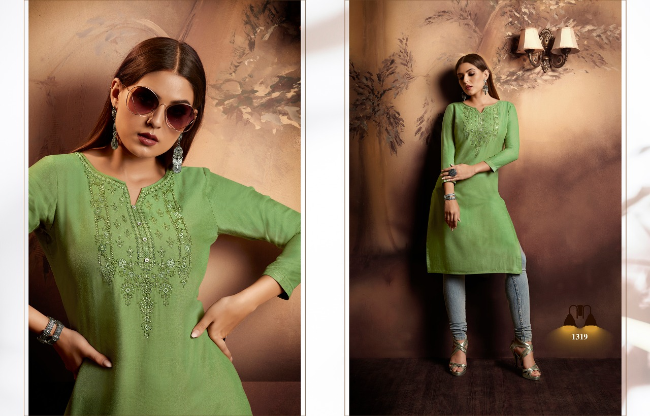 Kajree Lily Vol 15 Kurti Wholesale Catalog 12 Pcs 12 - Kajree Lily Vol 15 Kurti Wholesale Catalog 12 Pcs