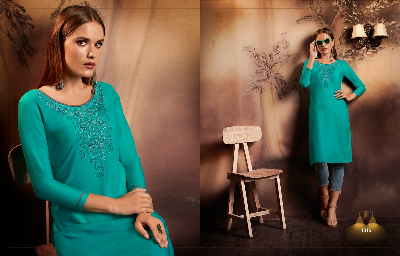 Kajree Lily Vol 15 Kurti Wholesale Catalog 12 Pcs 4 - Kajree Lily Vol 15 Kurti Wholesale Catalog 12 Pcs