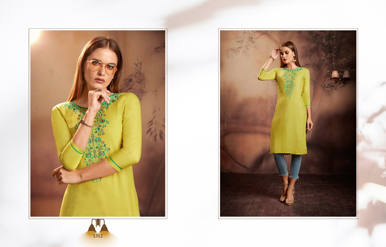 Kajree Lily Vol 15 Kurti Wholesale Catalog 12 Pcs 7 - Kajree Lily Vol 15 Kurti Wholesale Catalog 12 Pcs
