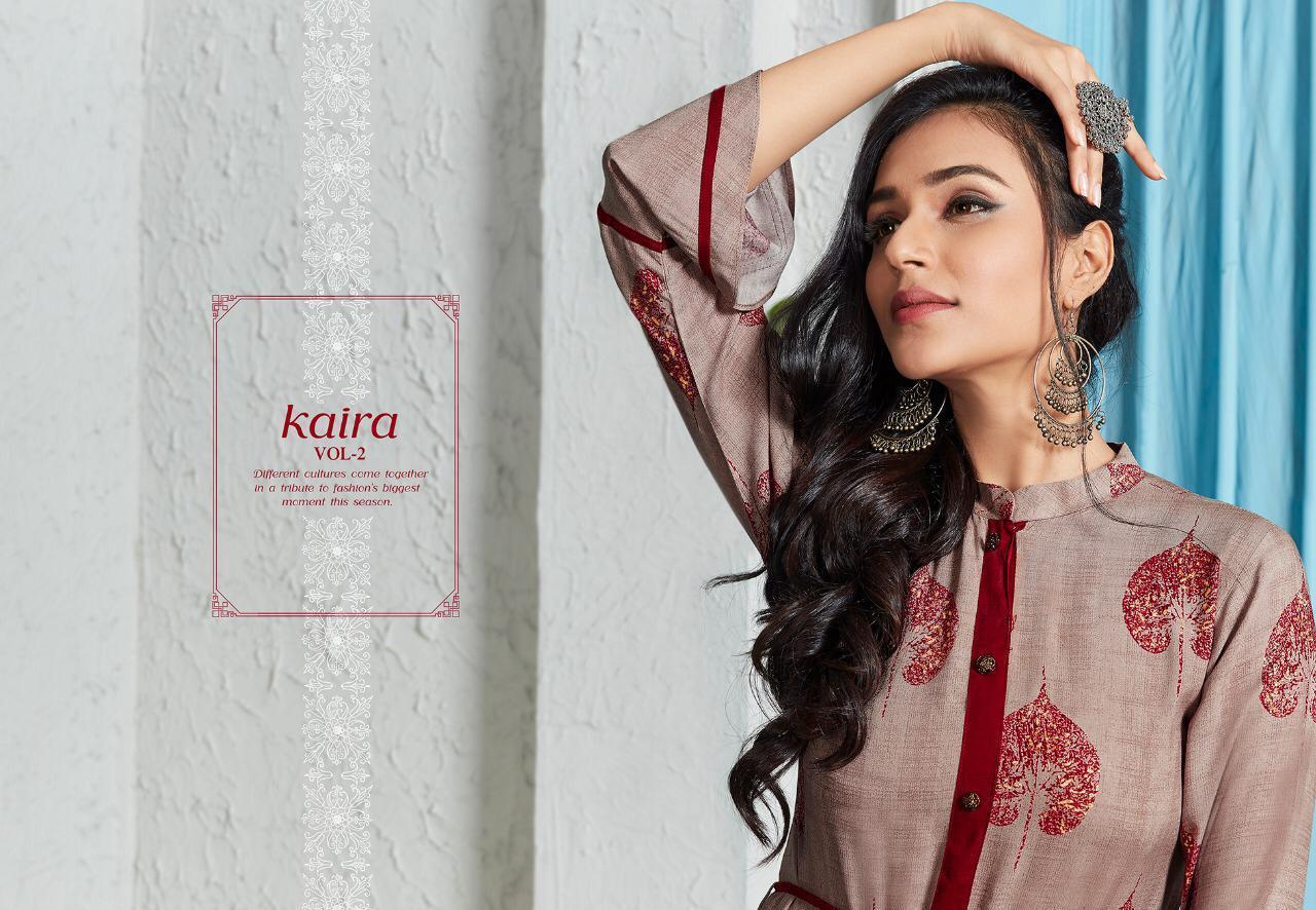 Lt Fabrics Nitya Kaira Vol 2 Kurti Wholesale Catalog 9 Pcs 1 - Lt Fabrics Nitya Kaira Vol 2 Kurti Wholesale Catalog 9 Pcs