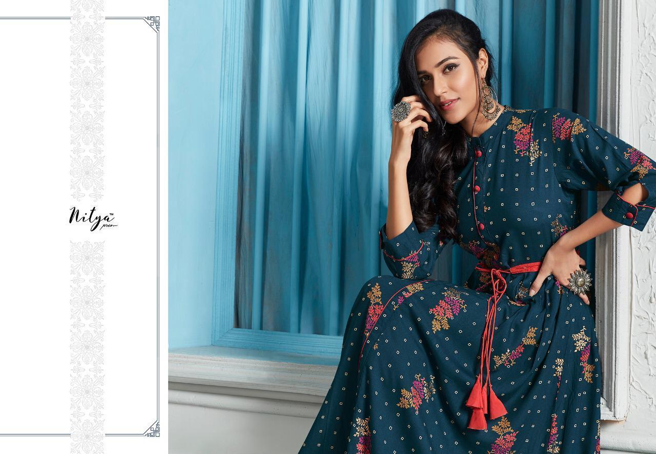 Lt Fabrics Nitya Kaira Vol 2 Kurti Wholesale Catalog 9 Pcs 14 - Lt Fabrics Nitya Kaira Vol 2 Kurti Wholesale Catalog 9 Pcs