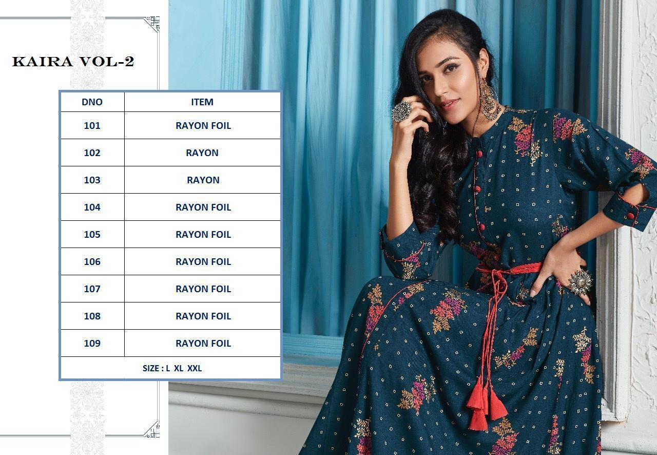 Lt Fabrics Nitya Kaira Vol 2 Kurti Wholesale Catalog 9 Pcs 17 - Lt Fabrics Nitya Kaira Vol 2 Kurti Wholesale Catalog 9 Pcs