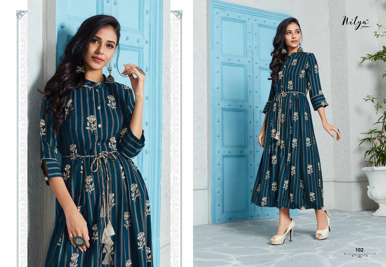 Lt Fabrics Nitya Kaira Vol 2 Kurti Wholesale Catalog 9 Pcs 4 - Lt Fabrics Nitya Kaira Vol 2 Kurti Wholesale Catalog 9 Pcs