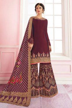 Mrigni Sarara Salwar Suit Wholesale Catalog 6 Pcs