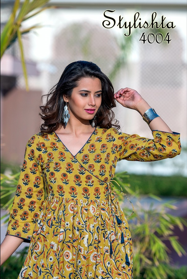 Tejaswee Stylishta Vol 2 Kurti Wholesale Catalog 4 Pcs 23 - Tejaswee Stylishta Vol 2 Kurti Wholesale Catalog 4 Pcs