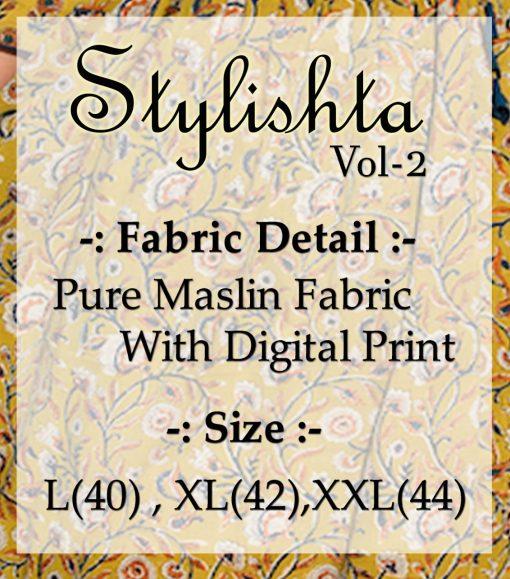 Tejaswee Stylishta Vol 2 Kurti Wholesale Catalog 4 Pcs 25 510x579 - Tejaswee Stylishta Vol 2 Kurti Wholesale Catalog 4 Pcs