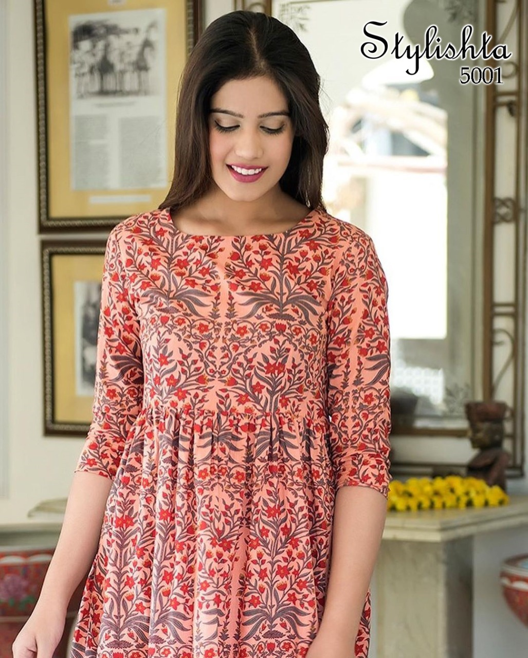 Tejaswee Stylishta Vol 3 Kurti Wholesale Catalog 6 Pcs 1 - Tejaswee Stylishta Vol 3 Kurti Wholesale Catalog 6 Pcs