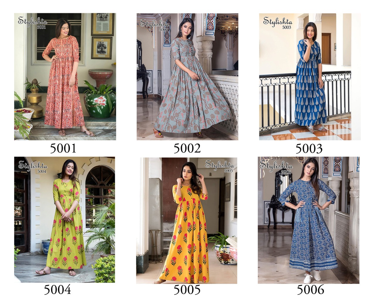 Tejaswee Stylishta Vol 3 Kurti Wholesale Catalog 6 Pcs 20 - Tejaswee Stylishta Vol 3 Kurti Wholesale Catalog 6 Pcs
