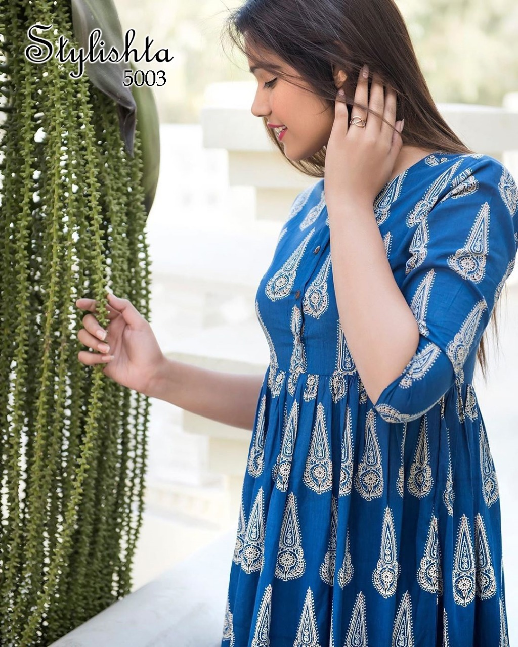 Tejaswee Stylishta Vol 3 Kurti Wholesale Catalog 6 Pcs 5 - Tejaswee Stylishta Vol 3 Kurti Wholesale Catalog 6 Pcs