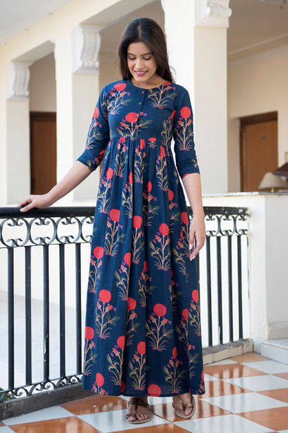 Tejaswee Stylishta Vol 4 Kurti Wholesale Catalog 5 Pcs