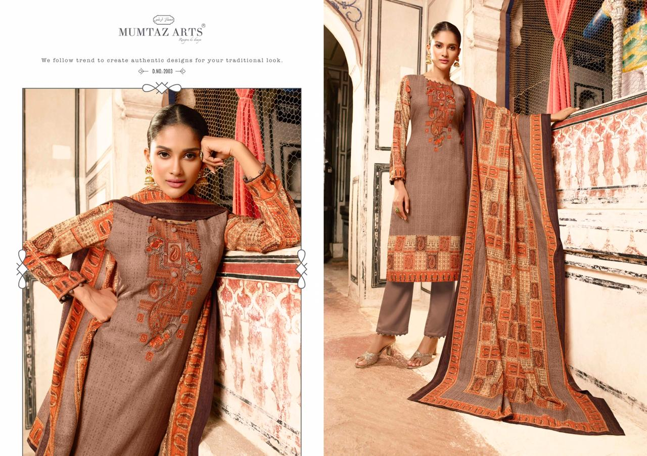 Mumtaz Arts Cashmere Pashmina Salwar Suit Wholesale Catalog 10 Pcs 13 - Mumtaz Arts Cashmere Pashmina Salwar Suit Wholesale Catalog 10 Pcs