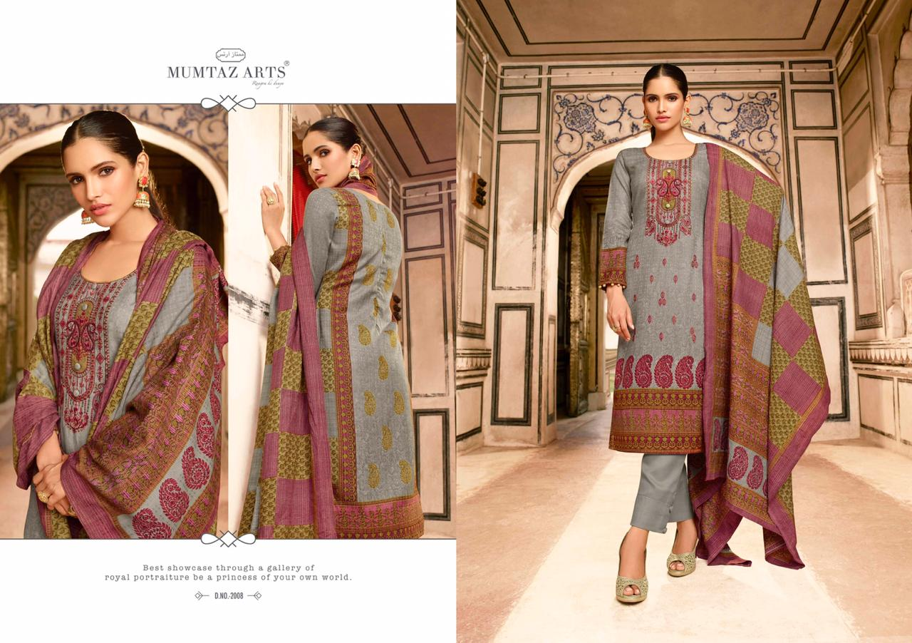 Mumtaz Arts Cashmere Pashmina Salwar Suit Wholesale Catalog 10 Pcs 14 - Mumtaz Arts Cashmere Pashmina Salwar Suit Wholesale Catalog 10 Pcs
