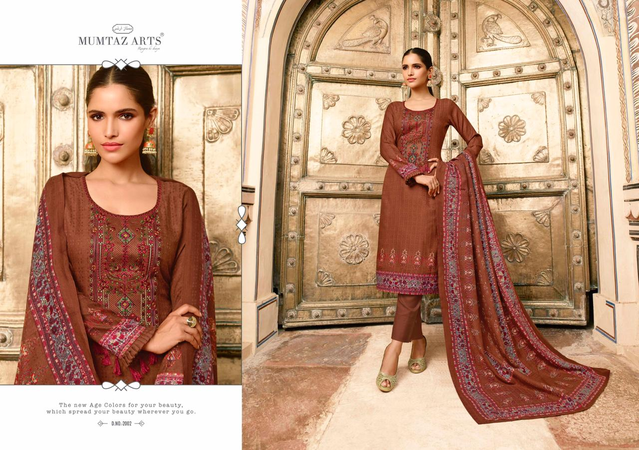 Mumtaz Arts Cashmere Pashmina Salwar Suit Wholesale Catalog 10 Pcs 3 - Mumtaz Arts Cashmere Pashmina Salwar Suit Wholesale Catalog 10 Pcs