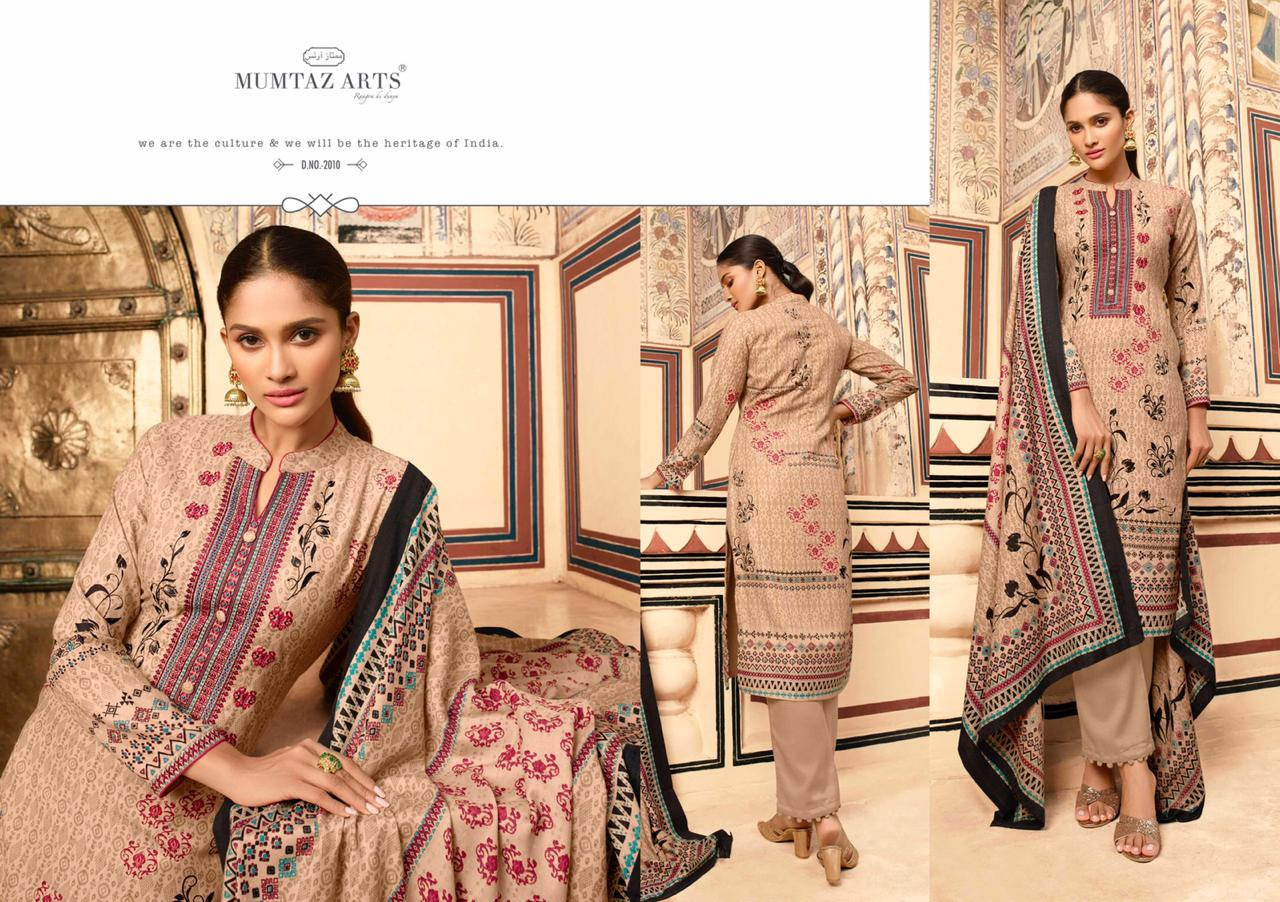 Mumtaz Arts Cashmere Pashmina Salwar Suit Wholesale Catalog 10 Pcs 4 - Mumtaz Arts Cashmere Pashmina Salwar Suit Wholesale Catalog 10 Pcs