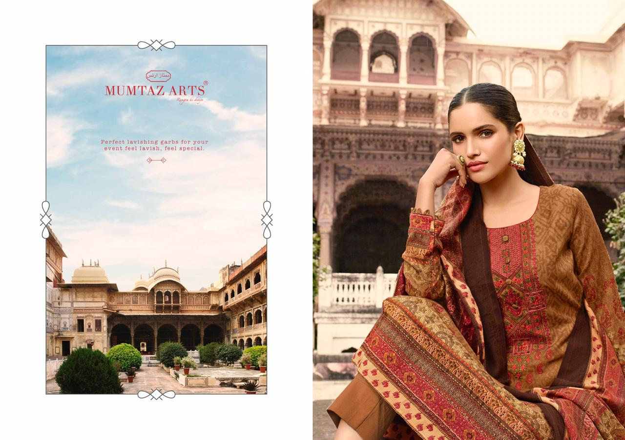 Mumtaz Arts Cashmere Pashmina Salwar Suit Wholesale Catalog 10 Pcs 5 - Mumtaz Arts Cashmere Pashmina Salwar Suit Wholesale Catalog 10 Pcs