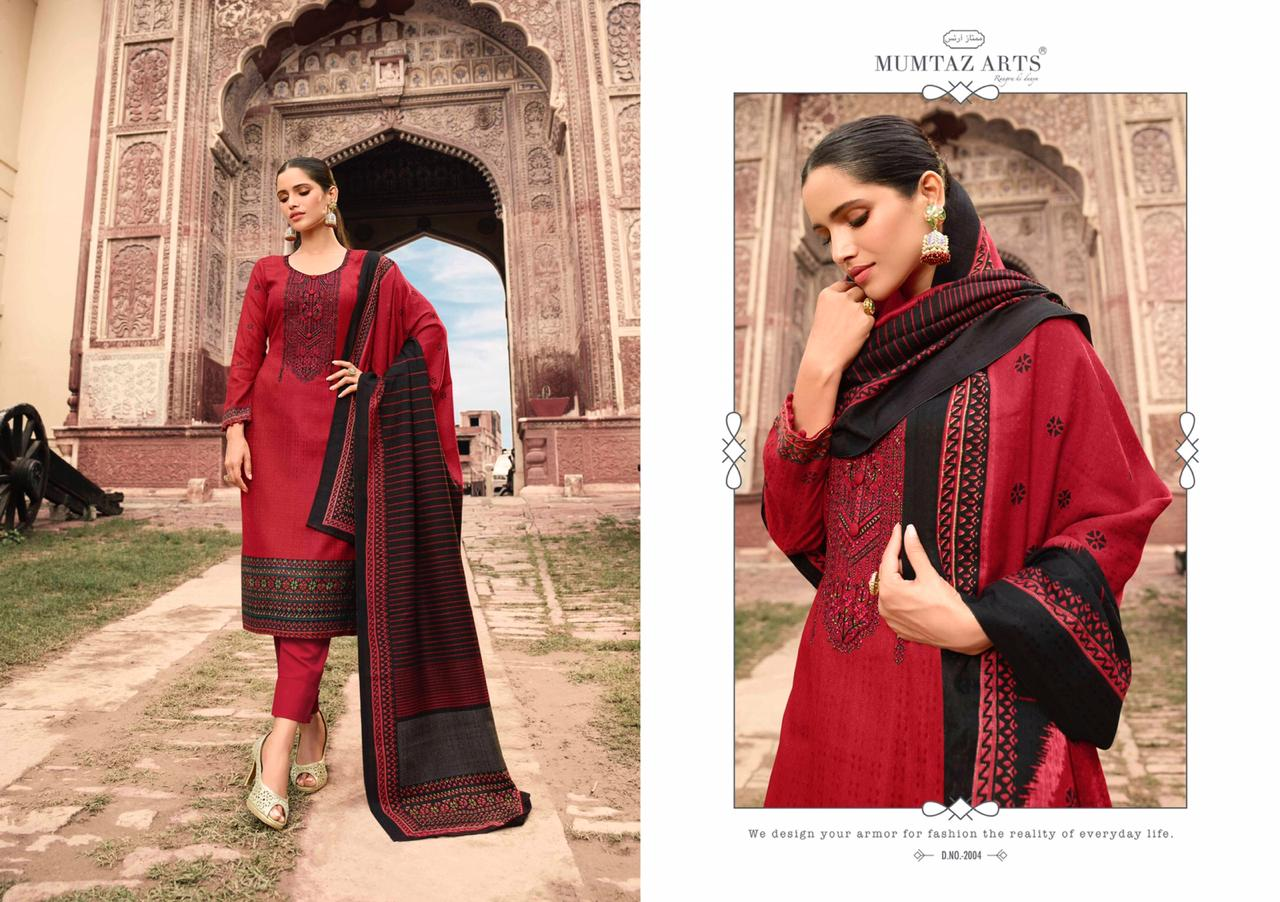Mumtaz Arts Cashmere Pashmina Salwar Suit Wholesale Catalog 10 Pcs 6 - Mumtaz Arts Cashmere Pashmina Salwar Suit Wholesale Catalog 10 Pcs