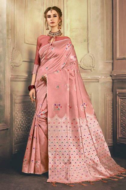 YNF Hamsini Silk Saree Sari Wholesale Catalog 10 Pcs