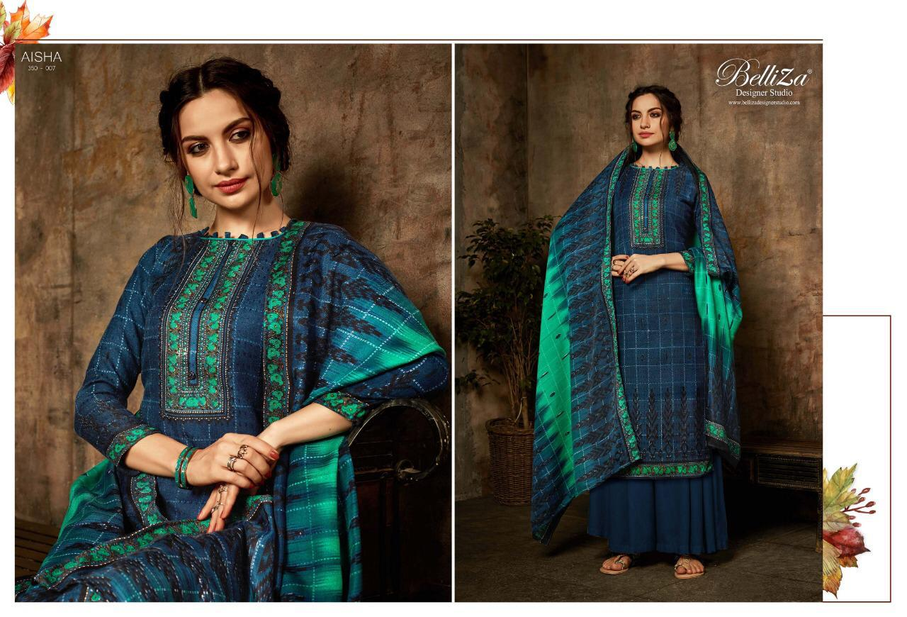 Belliza Aisha Vol 2 Pashmina Salwar Suit Wholesale Catalog 10 Pcs 6 - Belliza Aisha Vol 2 Pashmina Salwar Suit Wholesale Catalog 10 Pcs