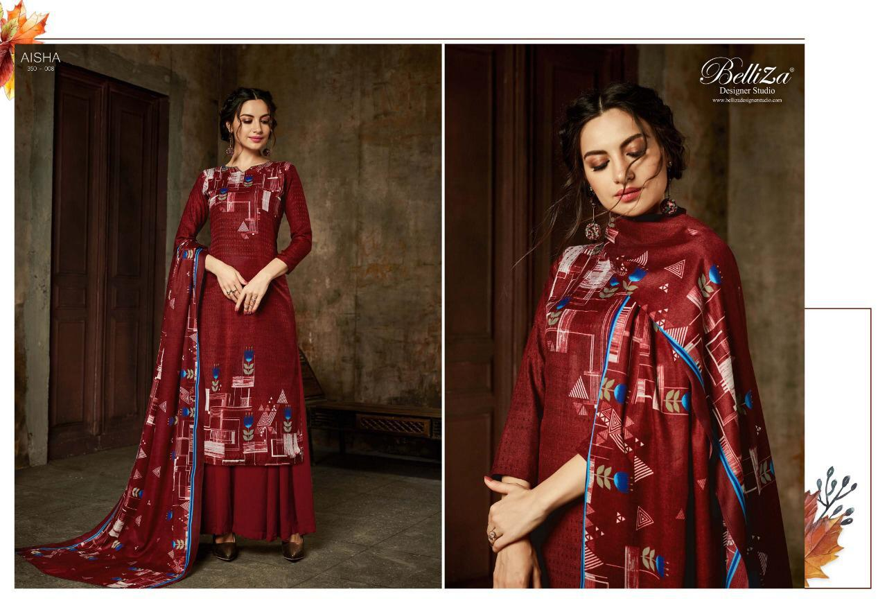 Belliza Aisha Vol 2 Pashmina Salwar Suit Wholesale Catalog 10 Pcs 9 - Belliza Aisha Vol 2 Pashmina Salwar Suit Wholesale Catalog 10 Pcs