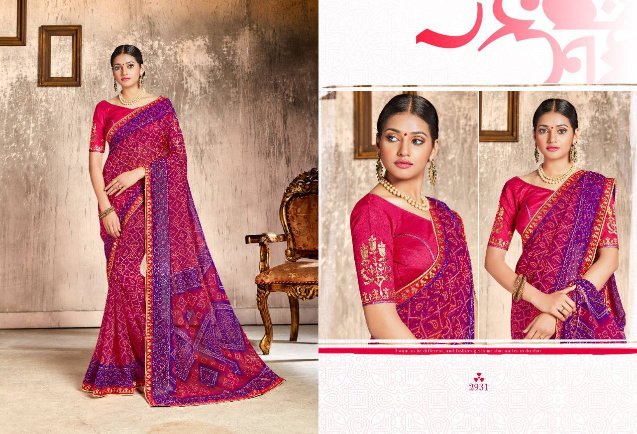 Kessi Chunari Saree Sari Wholesale Catalog 8 Pcs 3 - Kessi Chunari Saree Sari Wholesale Catalog 8 Pcs