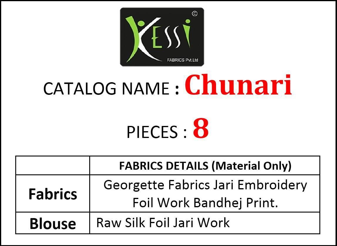 Kessi Chunari Saree Sari Wholesale Catalog 8 Pcs 9 - Kessi Chunari Saree Sari Wholesale Catalog 8 Pcs