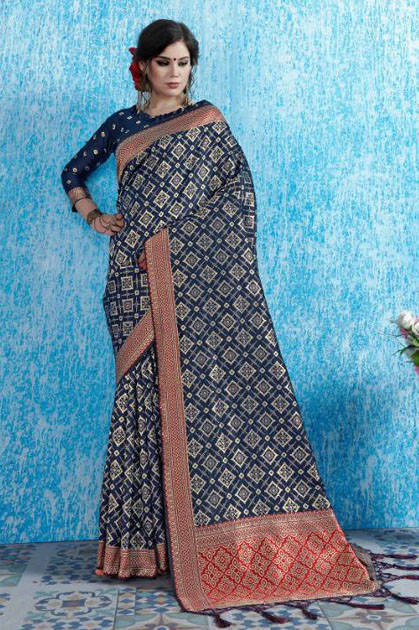 YNF Viradil Silk Saree Sari Wholesale Catalog 10 Pcs