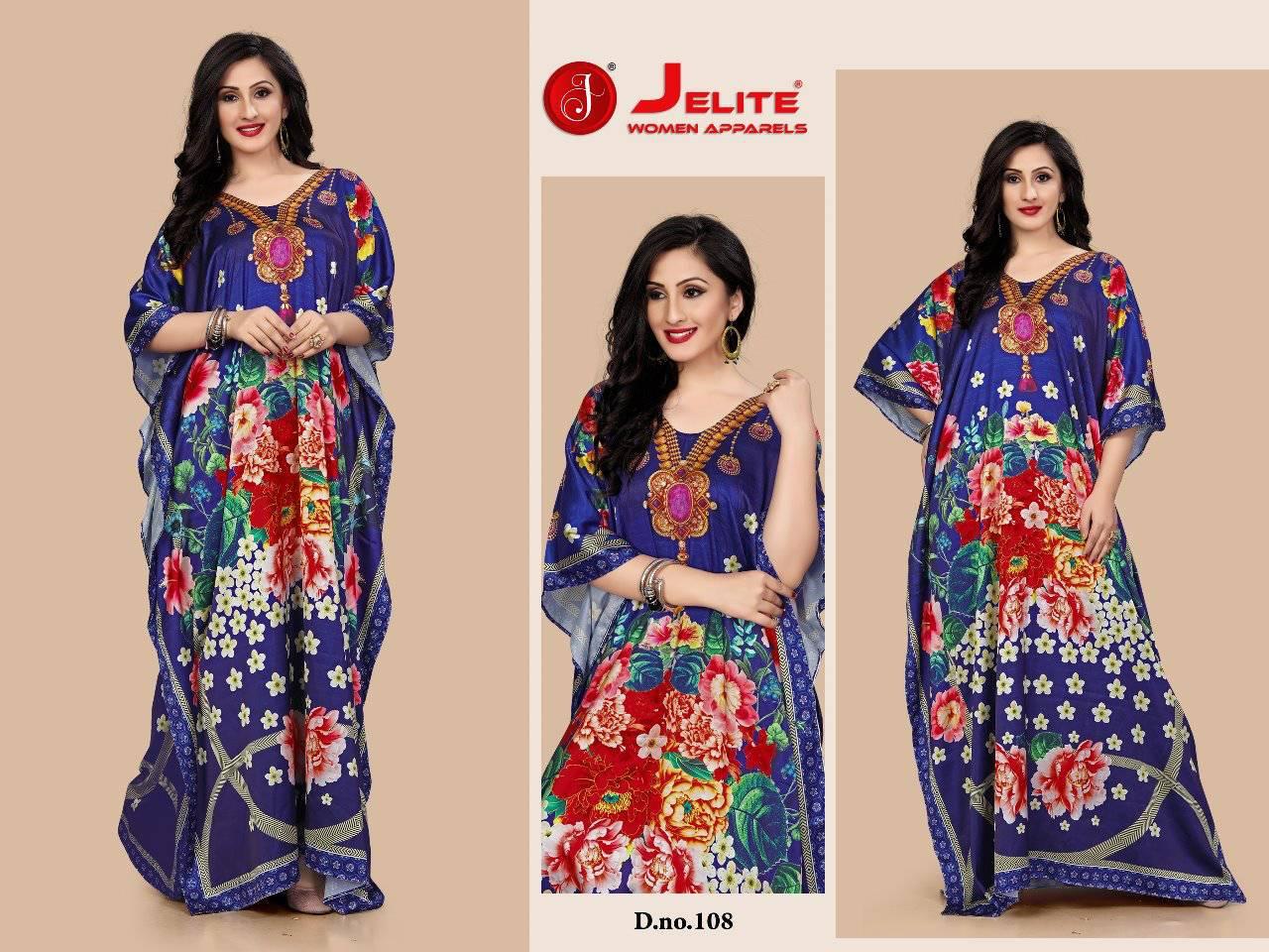 Jelite Kaftans Vol 1 Kurti Wholesale Catalog 8 Pcs 1 - Jelite Kaftans Vol 1 Kurti Wholesale Catalog 8 Pcs
