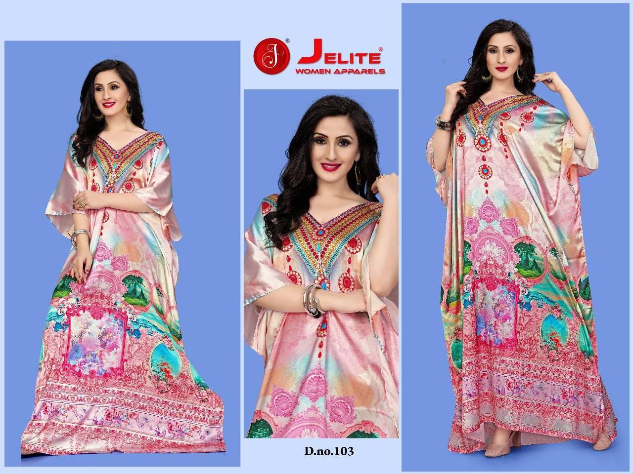 Jelite Kaftans Vol 1 Kurti Wholesale Catalog 8 Pcs 4 - Jelite Kaftans Vol 1 Kurti Wholesale Catalog 8 Pcs