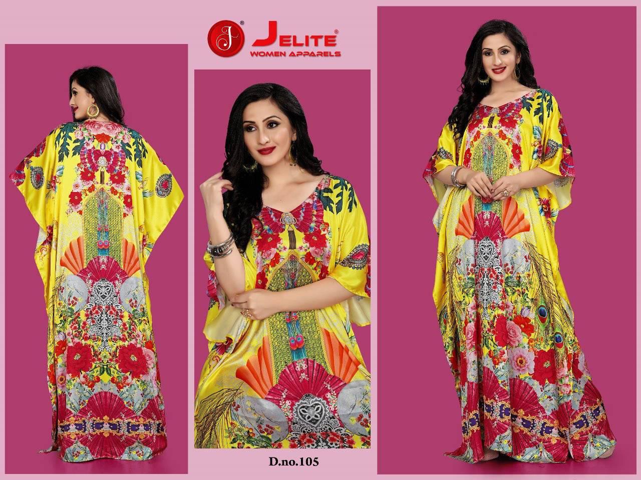 Jelite Kaftans Vol 1 Kurti Wholesale Catalog 8 Pcs 5 - Jelite Kaftans Vol 1 Kurti Wholesale Catalog 8 Pcs