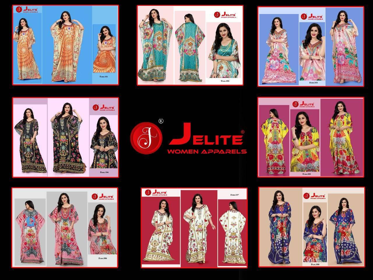 Jelite Kaftans Vol 1 Kurti Wholesale Catalog 8 Pcs 9 - Jelite Kaftans Vol 1 Kurti Wholesale Catalog 8 Pcs