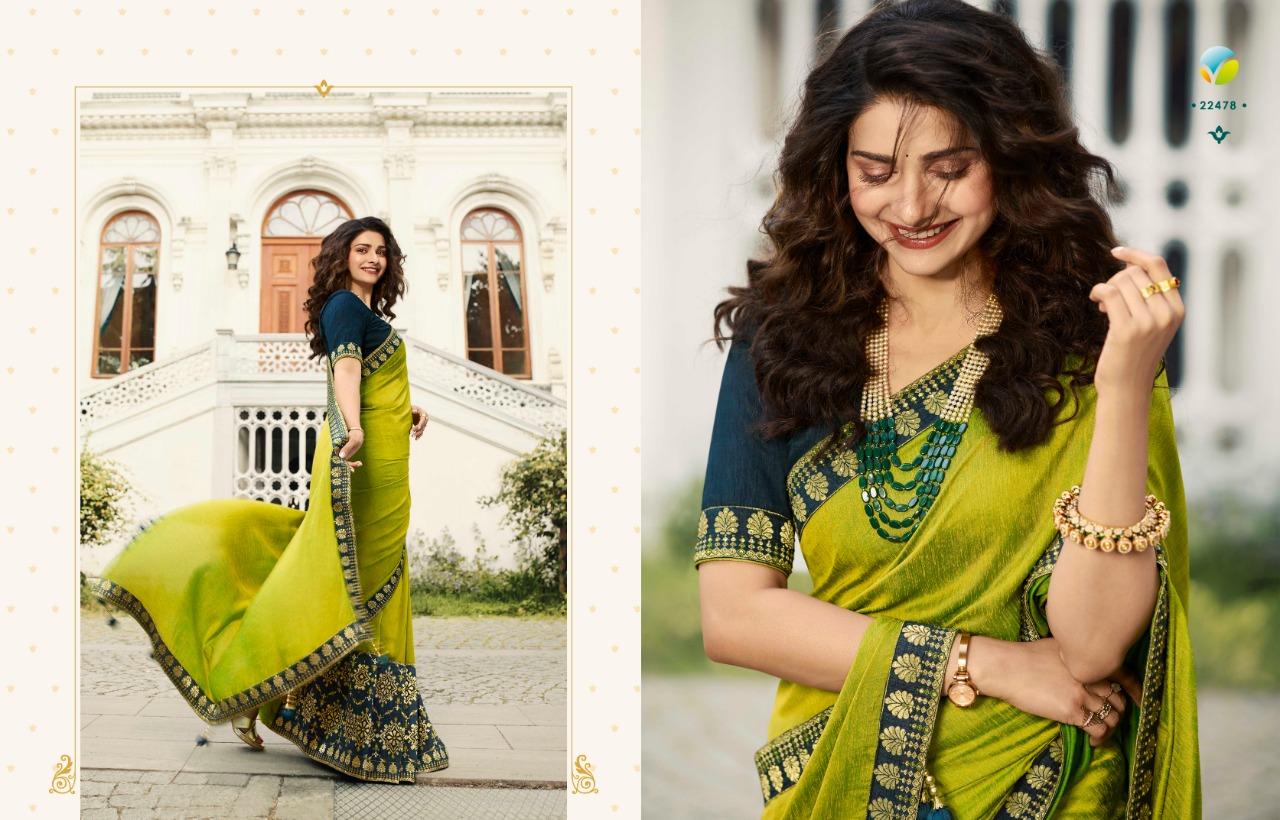 Vinay Sheesha Meenakari Prachi Desai Saree Sari Wholesale Catalog 9 Pcs 10 - Vinay Sheesha Meenakari Prachi Desai Saree Sari Wholesale Catalog 9 Pcs