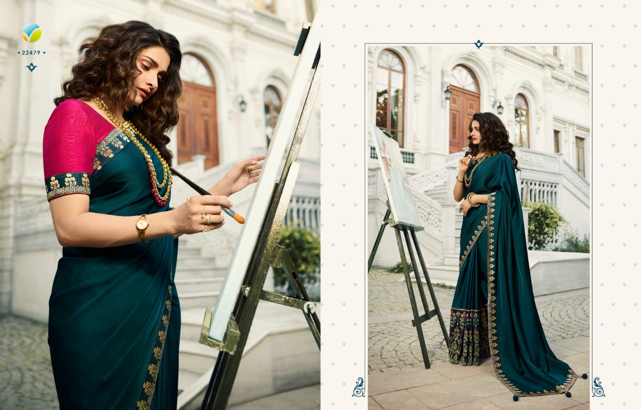 Vinay Sheesha Meenakari Prachi Desai Saree Sari Wholesale Catalog 9 Pcs 14 - Vinay Sheesha Meenakari Prachi Desai Saree Sari Wholesale Catalog 9 Pcs