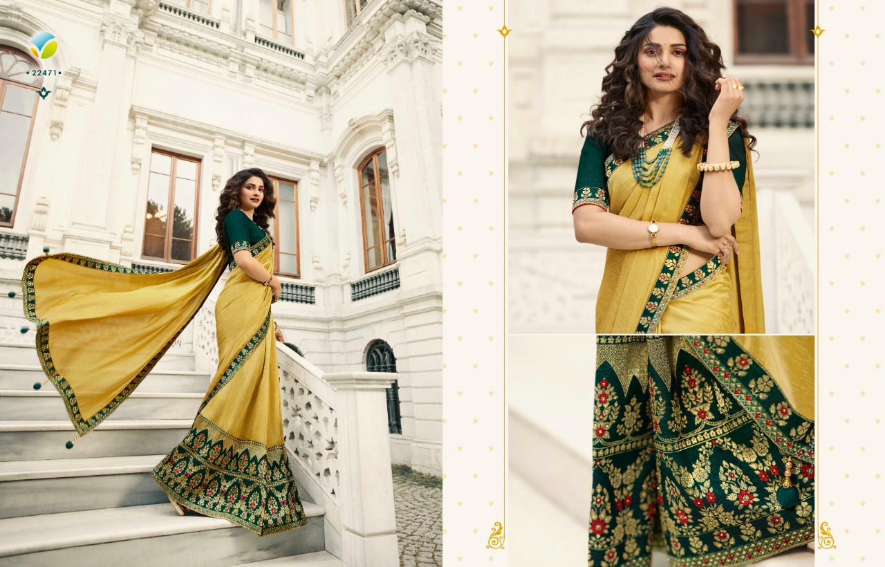 Vinay Sheesha Meenakari Prachi Desai Saree Sari Wholesale Catalog 9 Pcs 3 - Vinay Sheesha Meenakari Prachi Desai Saree Sari Wholesale Catalog 9 Pcs
