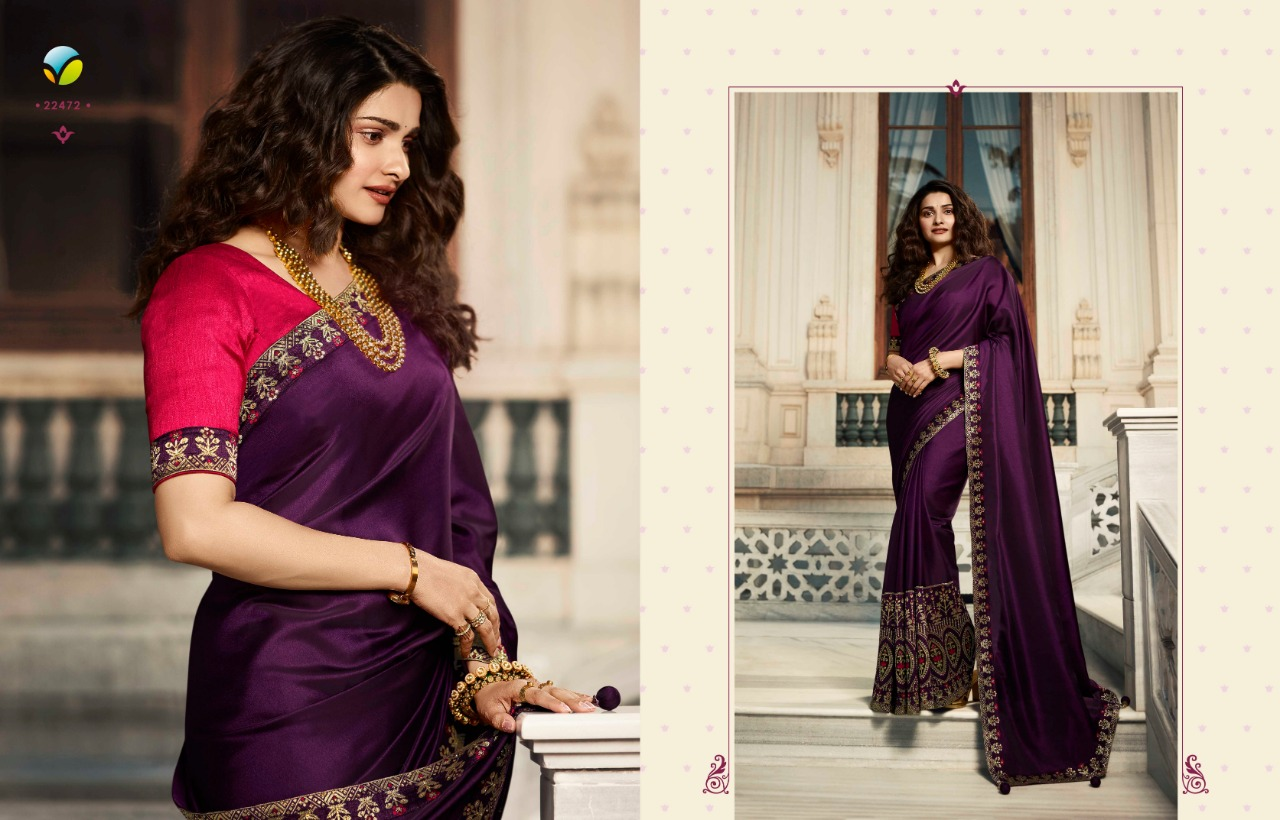 Vinay Sheesha Meenakari Prachi Desai Saree Sari Wholesale Catalog 9 Pcs 4 - Vinay Sheesha Meenakari Prachi Desai Saree Sari Wholesale Catalog 9 Pcs