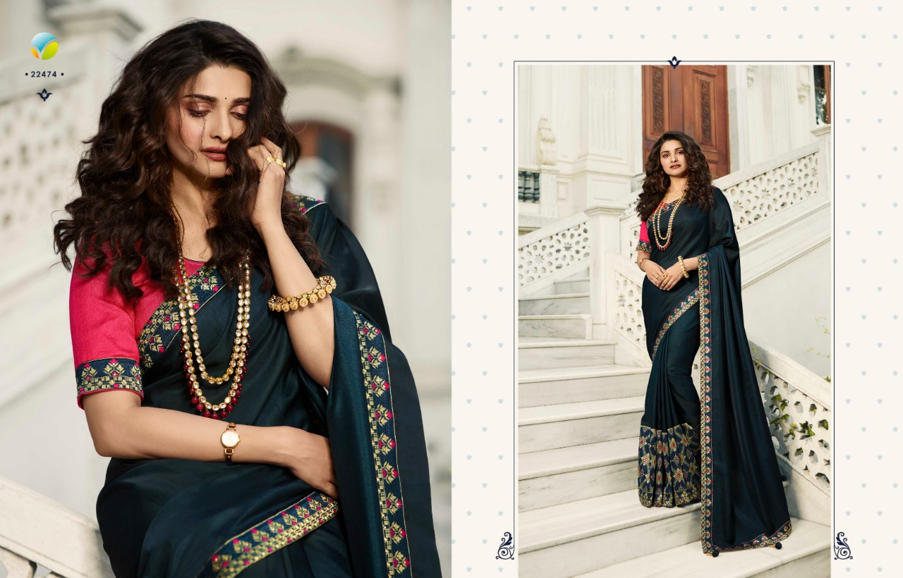 Vinay Sheesha Meenakari Prachi Desai Saree Sari Wholesale Catalog 9 Pcs 6 - Vinay Sheesha Meenakari Prachi Desai Saree Sari Wholesale Catalog 9 Pcs