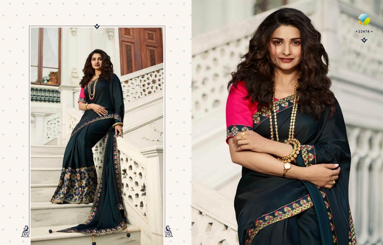 Vinay Sheesha Meenakari Prachi Desai Saree Sari Wholesale Catalog 9 Pcs 8 - Vinay Sheesha Meenakari Prachi Desai Saree Sari Wholesale Catalog 9 Pcs