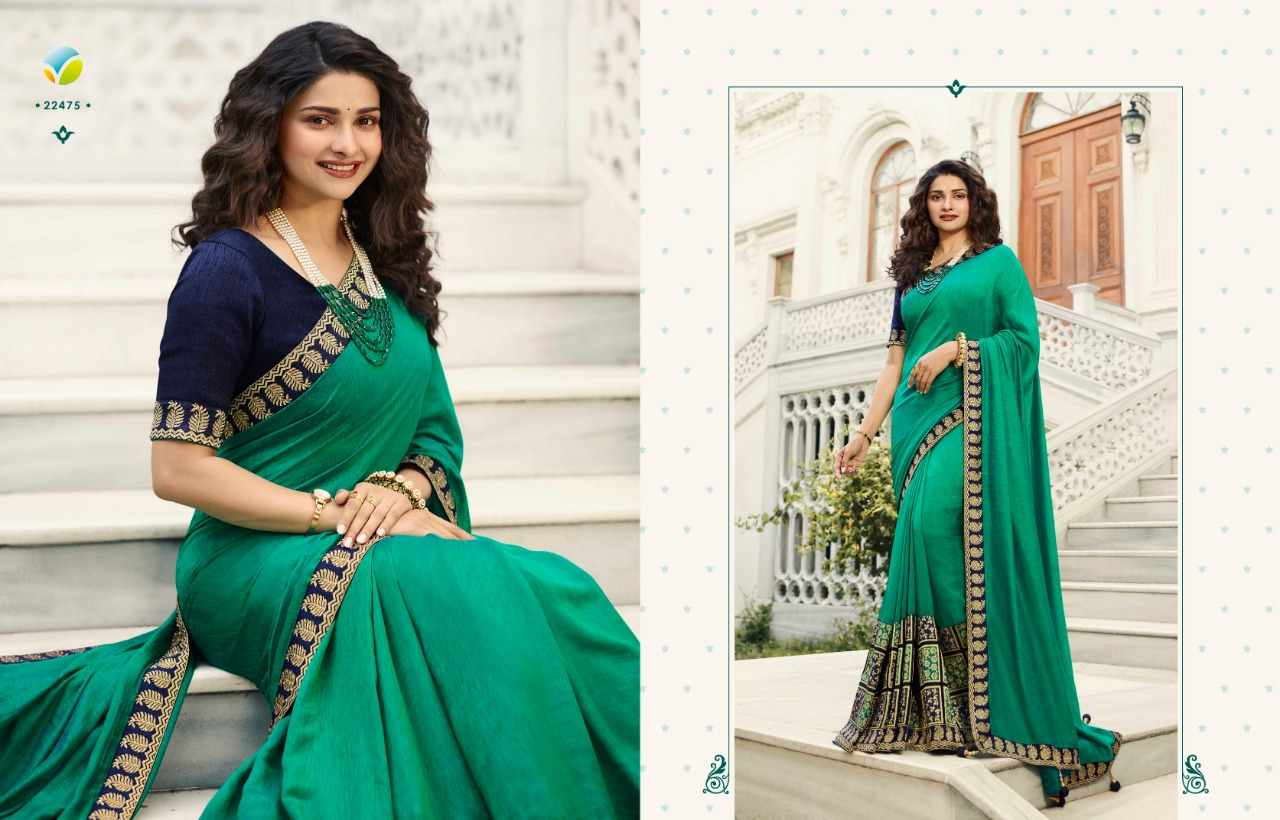 Vinay Sheesha Meenakari Prachi Desai Saree Sari Wholesale Catalog 9 Pcs 9 - Vinay Sheesha Meenakari Prachi Desai Saree Sari Wholesale Catalog 9 Pcs