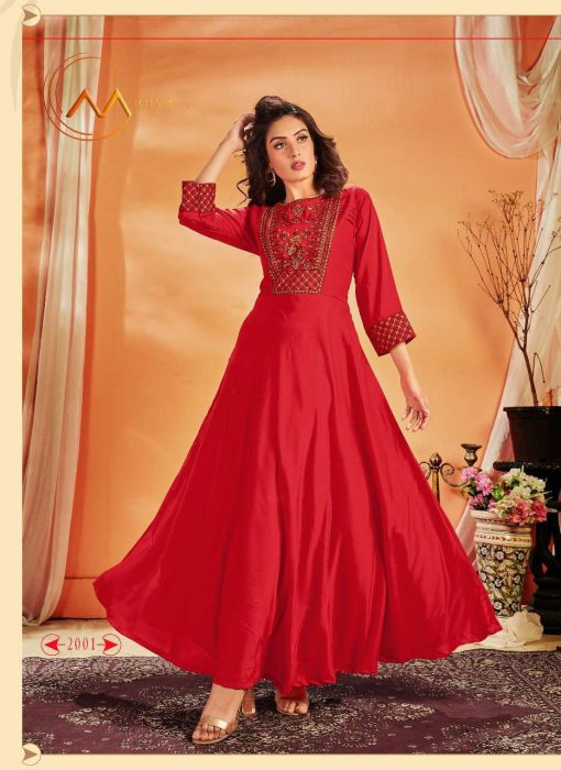 Mansi Fashion Luxurious Kurti Wholesale Catalog 4 Pcs 2 1 510x700 - Mansi Fashion Luxurious Kurti Wholesale Catalog 4 Pcs