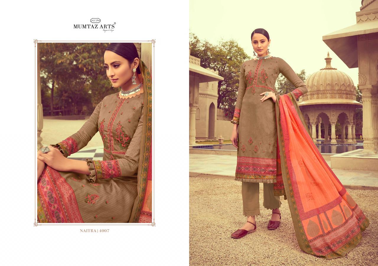 Mumtaz Arts Naitra Salwar Suit Wholesale Catalog 10 Pcs 1 - Mumtaz Arts Naitra Salwar Suit Wholesale Catalog 10 Pcs