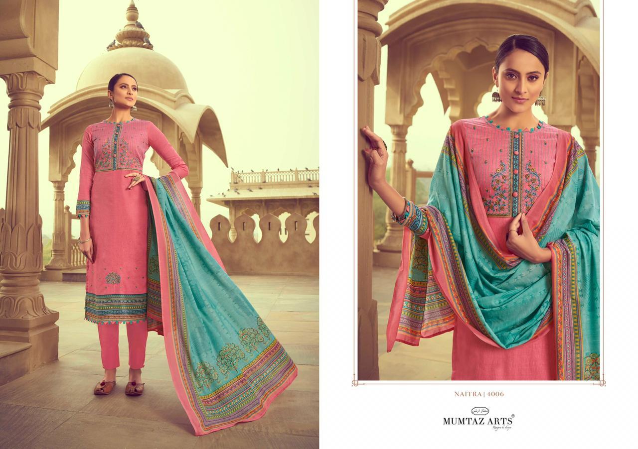 Mumtaz Arts Naitra Salwar Suit Wholesale Catalog 10 Pcs 11 - Mumtaz Arts Naitra Salwar Suit Wholesale Catalog 10 Pcs