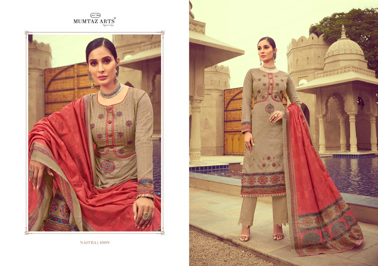 Mumtaz Arts Naitra Salwar Suit Wholesale Catalog 10 Pcs 12 - Mumtaz Arts Naitra Salwar Suit Wholesale Catalog 10 Pcs