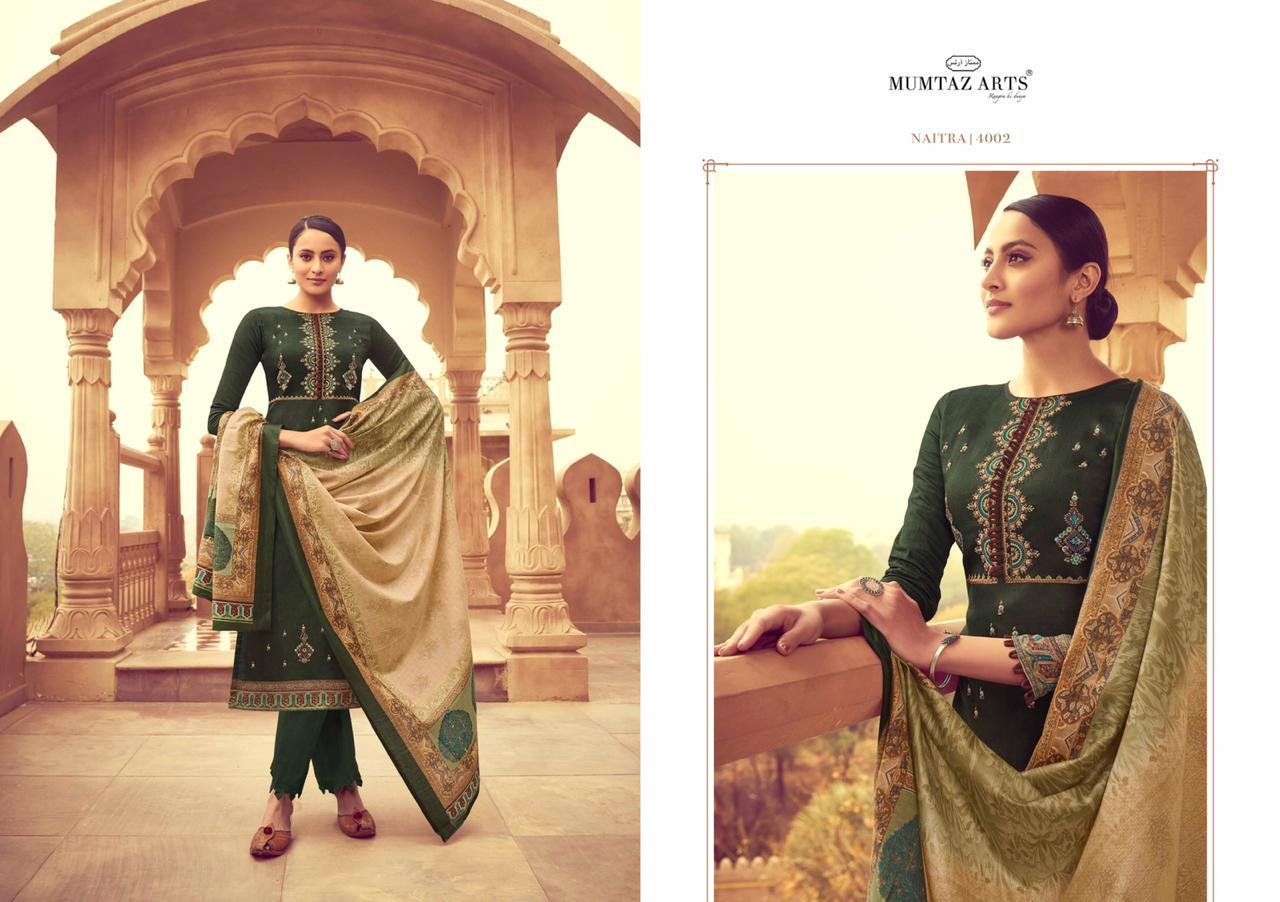 Mumtaz Arts Naitra Salwar Suit Wholesale Catalog 10 Pcs 2 - Mumtaz Arts Naitra Salwar Suit Wholesale Catalog 10 Pcs