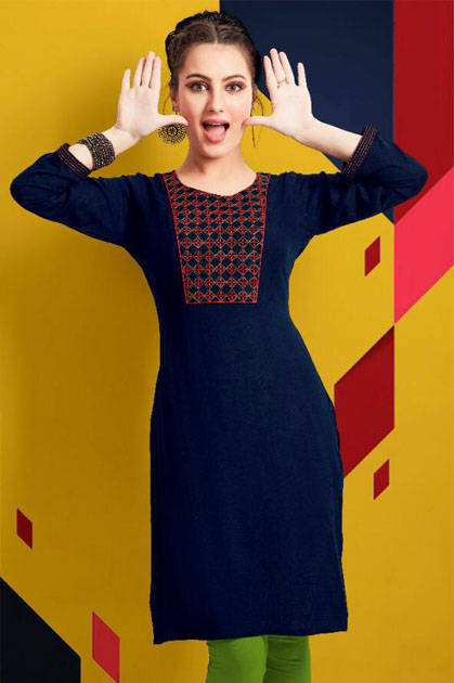 Psyna Pari Vol 5 Kurti Wholesale Catalog 10 Pcs - Psyna Pari Vol 5 Kurti Wholesale Catalog 10 Pcs