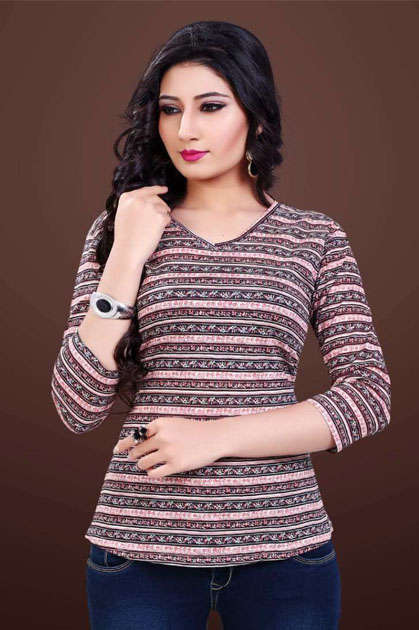 Varun InkLine Retro Vol 50 T-Shirt Wholesale Catalog 6 Pcs
