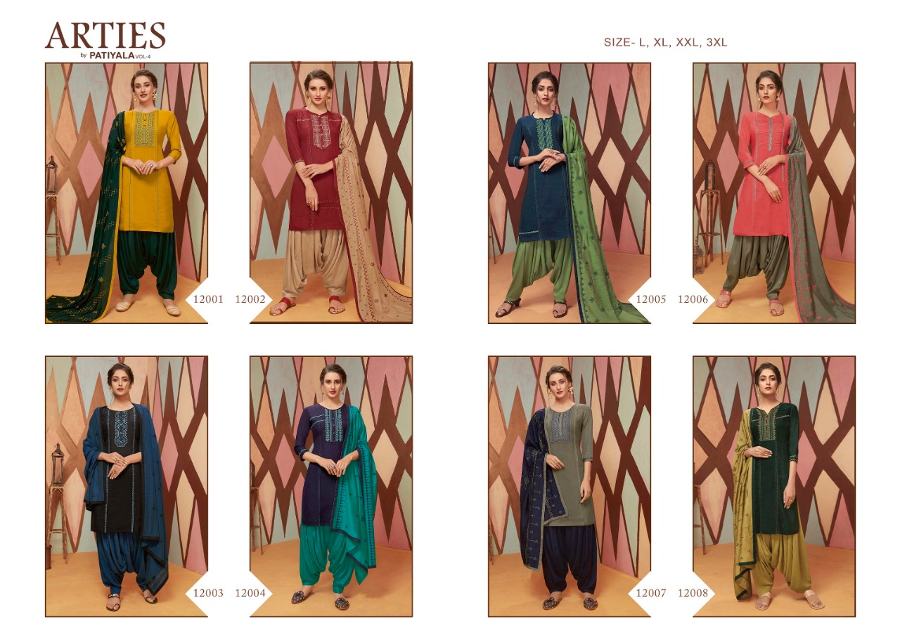 Kalaroop Arties by Patiala Vol 4 by Kessi Readymade Salwar Suit Wholesale Catalog 8 Pcs 10 - Kalaroop Arties by Patiala Vol 4 by Kessi Readymade Salwar Suit Wholesale Catalog 8 Pcs
