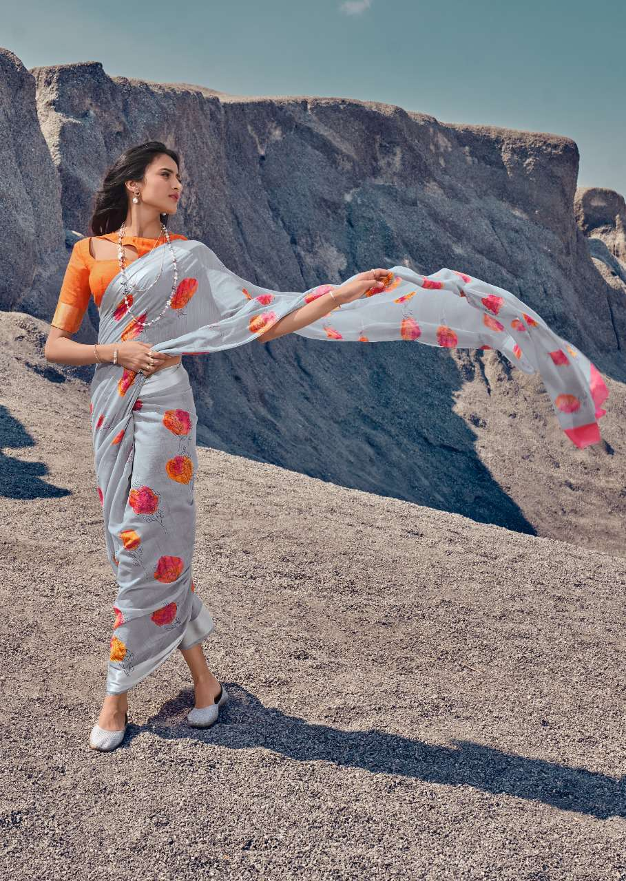 Lt Fabrics Silk Route Saree Sari Wholesale Catalog 10 Pcs 22 - Lt Fabrics Silk Route Saree Sari Wholesale Catalog 10 Pcs