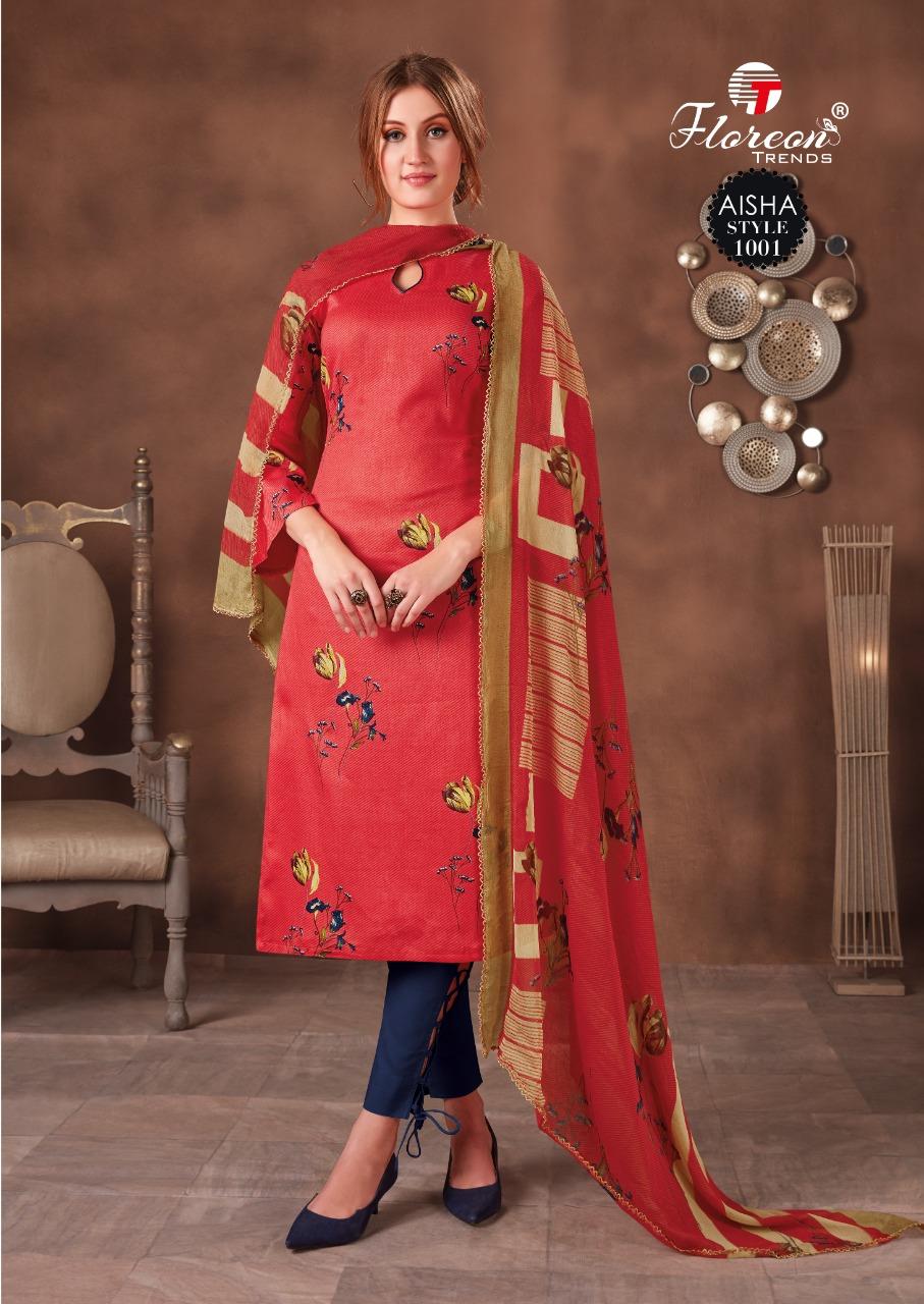 Floreon Trends Aisha Salwar Suit Wholesale Catalog 10 Pcs 1 - Floreon Trends Aisha Salwar Suit Wholesale Catalog 10 Pcs